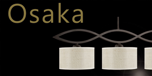 Colección Osaka. Ajp Iluminación.